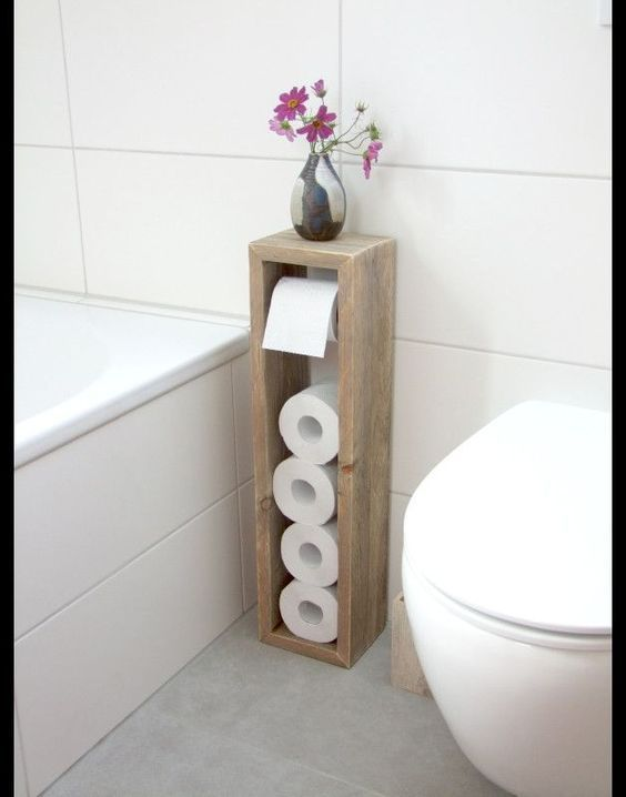 40 Creative Easy Diy Toilet Paper Holders Diy Projects