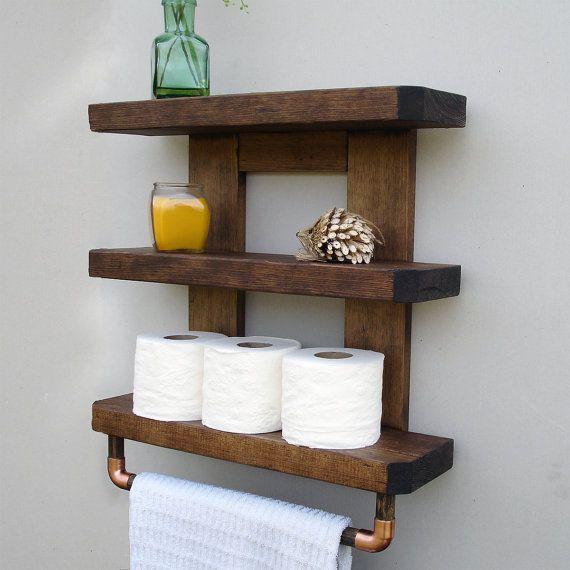 Diy Toilet Paper Holder 31 - 40+ Creative & Easy DIY Toilet Paper Holders