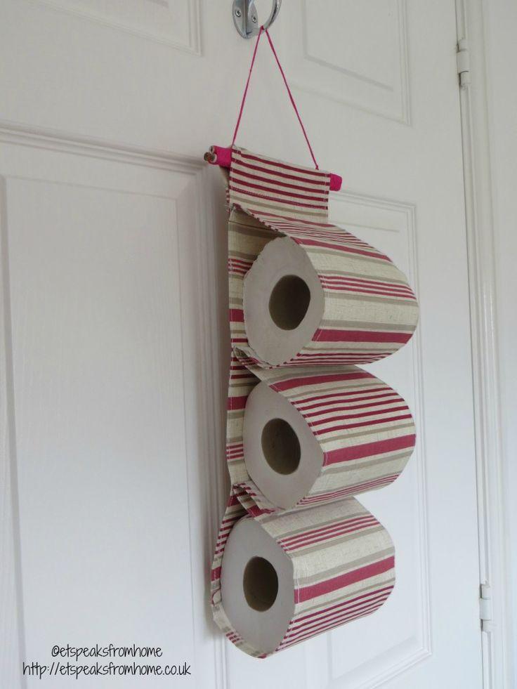 Diy Toilet Paper Holder 32 - 40+ Creative & Easy DIY Toilet Paper Holders