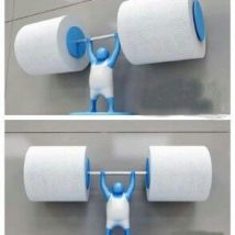 Diy Toilet Paper Holder 36 214x214 - 40+ Creative & Easy DIY Toilet Paper Holders