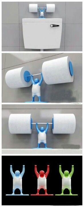 Diy Toilet Paper Holder 36 - 40+ Creative & Easy DIY Toilet Paper Holders
