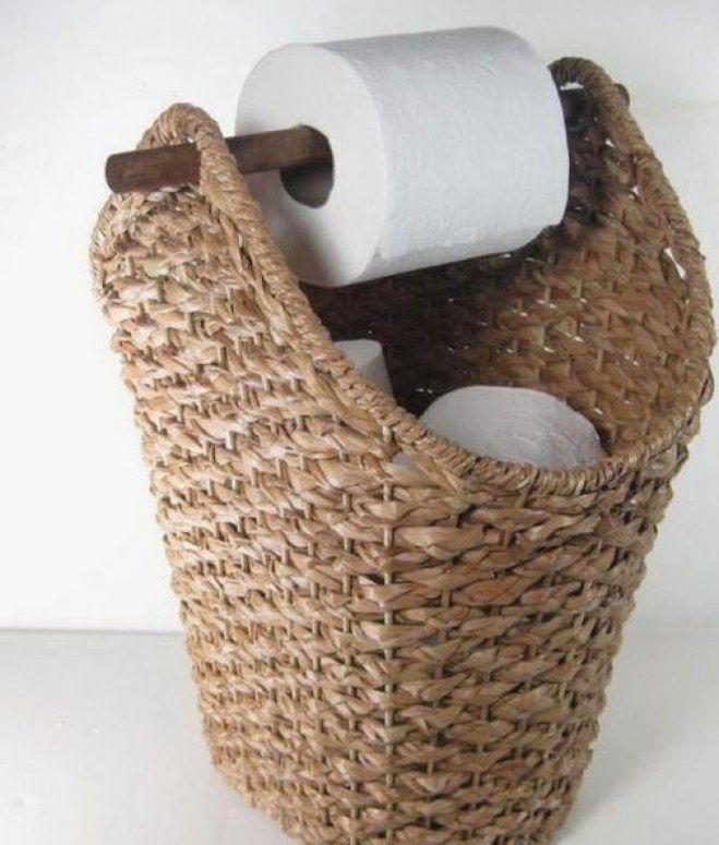 Diy Toilet Paper Holder 38 - 40+ Creative & Easy DIY Toilet Paper Holders