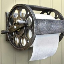 Diy Toilet Paper Holder 39 214x214 - 40+ Creative & Easy DIY Toilet Paper Holders