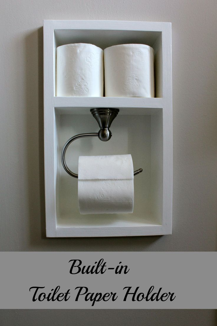 Diy Toilet Paper Holder 4 - 40+ Creative & Easy DIY Toilet Paper Holders