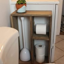 40+ Creative & Easy DIY Toilet Paper Holders