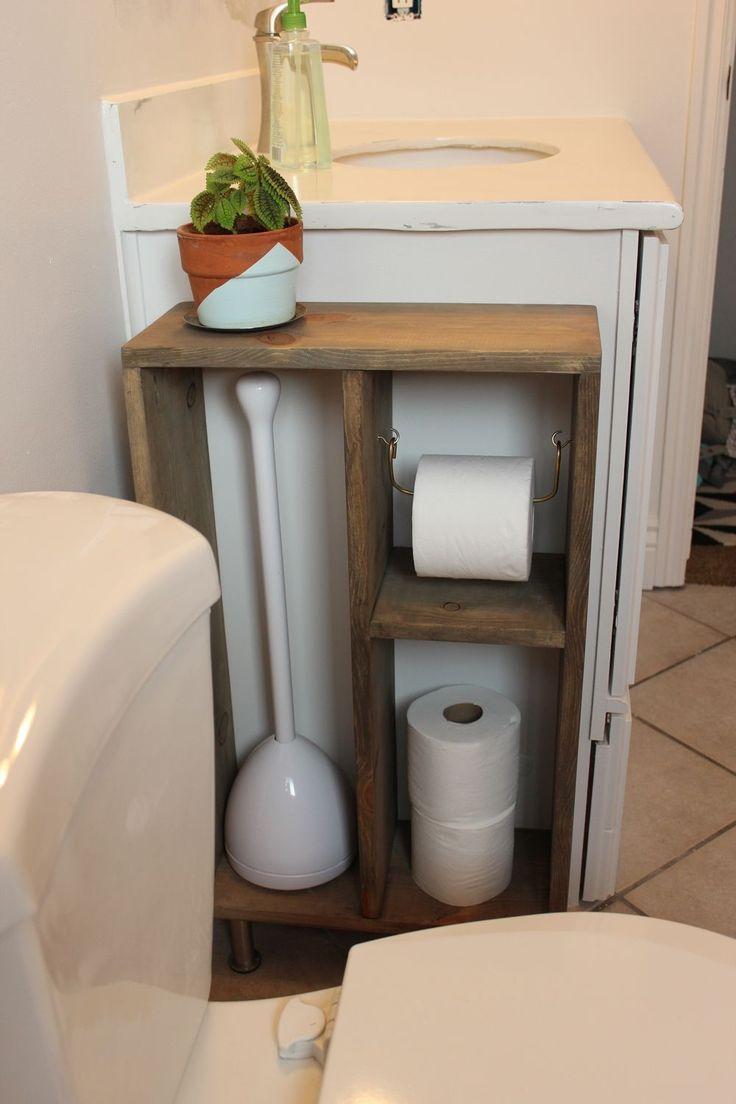 Diy Toilet Paper Holder 5 - 40+ Creative & Easy DIY Toilet Paper Holders