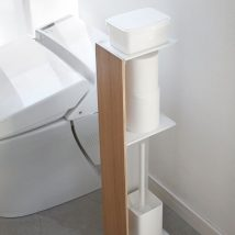 Diy Toilet Paper Holder 50 214x214 - 40+ Creative & Easy DIY Toilet Paper Holders
