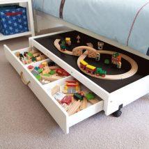 Diy Toy Storage Solutions 12 214x214 - Phenomenal DIY Toy Storage Solutions Ideas