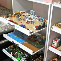 Diy Toy Storage Solutions 22 214x214 - Phenomenal DIY Toy Storage Solutions Ideas