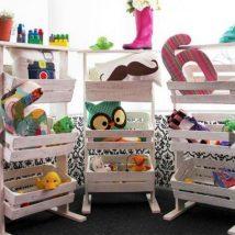 Diy Toy Storage Solutions 48 214x214 - Phenomenal DIY Toy Storage Solutions Ideas