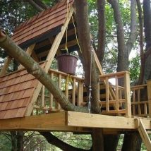 Diy Tree Houses 1 214x214 - 45+ DIY Tree House Ideas For Your Inspiration