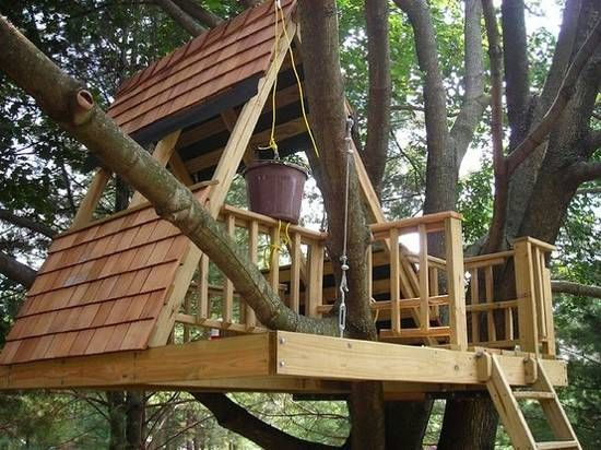 Diy Tree Houses 1 - 45+ DIY Tree House Ideas For Your Inspiration