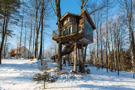 Diy Tree Houses 13 - 45+ DIY Tree House Ideas For Your Inspiration