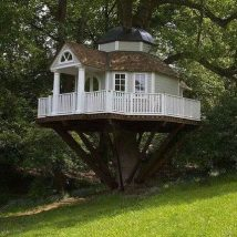 Diy Tree Houses 17 214x214 - 45+ DIY Tree House Ideas For Your Inspiration