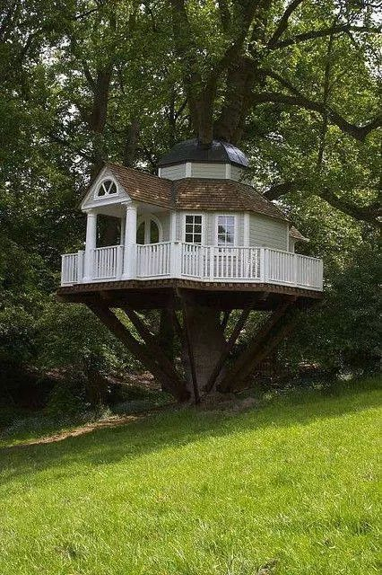 Diy Tree Houses 17 - 45+ DIY Tree House Ideas For Your Inspiration