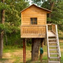 Diy Tree Houses 20 214x214 - 45+ DIY Tree House Ideas For Your Inspiration
