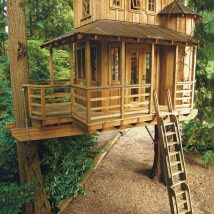 Diy Tree Houses 21 214x214 - 45+ DIY Tree House Ideas For Your Inspiration