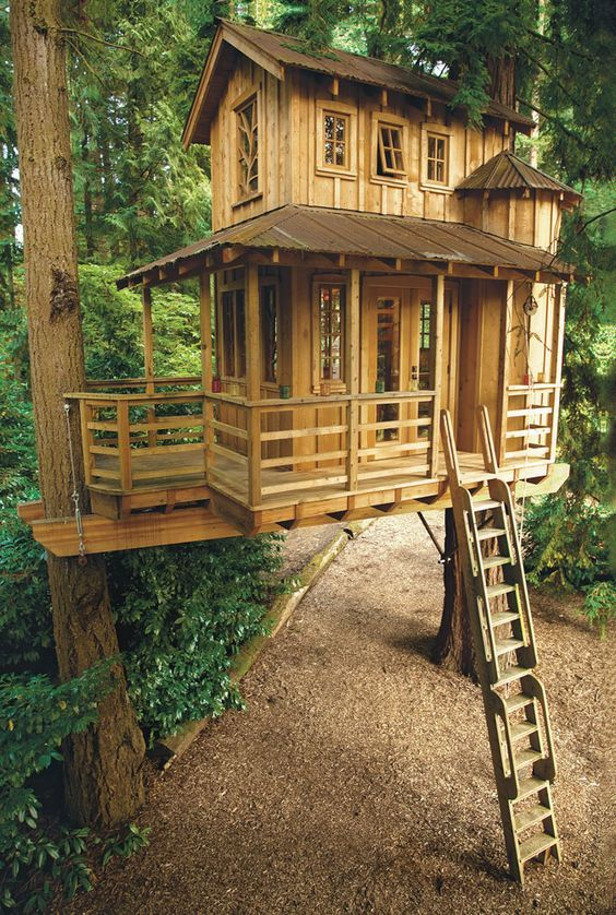 Diy Tree Houses 21 - 45+ DIY Tree House Ideas For Your Inspiration