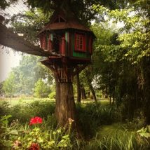 Diy Tree Houses 23 214x214 - 45+ DIY Tree House Ideas For Your Inspiration
