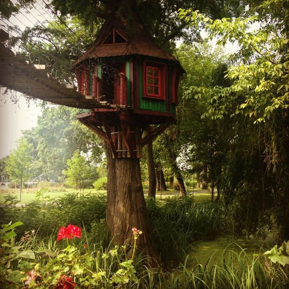Diy Tree Houses 23 - 45+ DIY Tree House Ideas For Your Inspiration