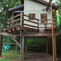 Diy Tree Houses 24 214x214 - 45+ DIY Tree House Ideas For Your Inspiration