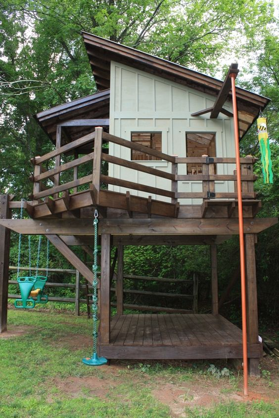 Diy Tree Houses 24 - 45+ DIY Tree House Ideas For Your Inspiration