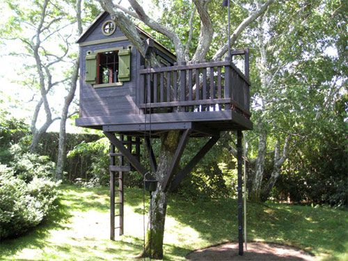 Diy Tree Houses 25 - 45+ DIY Tree House Ideas For Your Inspiration