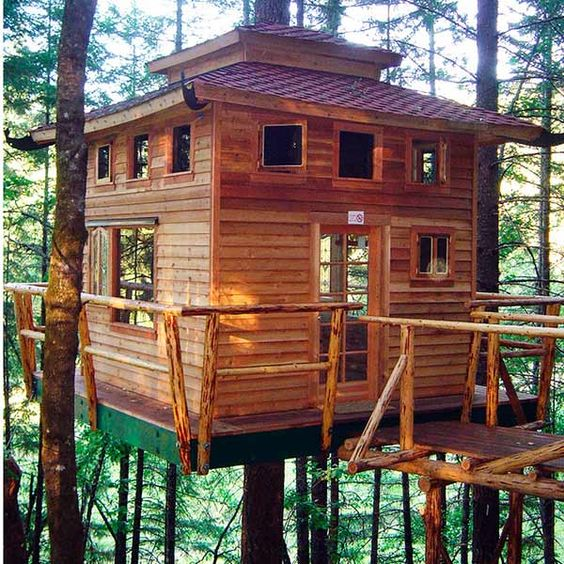 Diy Tree Houses 26 - 45+ DIY Tree House Ideas For Your Inspiration