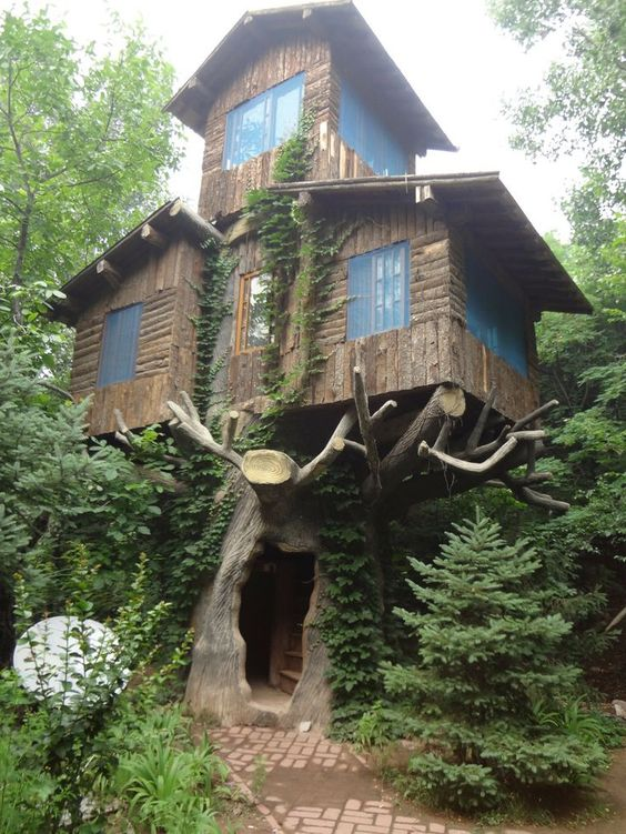 Diy Tree Houses 29 - 45+ DIY Tree House Ideas For Your Inspiration