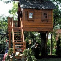 Diy Tree Houses 3 214x214 - 45+ DIY Tree House Ideas For Your Inspiration