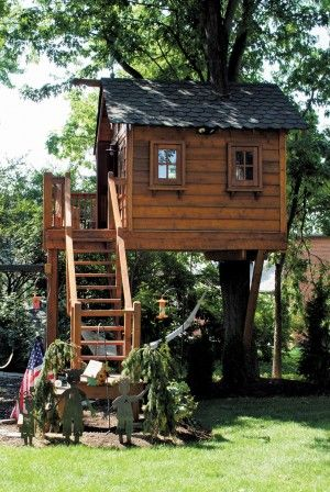 Diy Tree Houses 3 - 45+ DIY Tree House Ideas For Your Inspiration