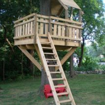 Diy Tree Houses 30 214x214 - 45+ DIY Tree House Ideas For Your Inspiration