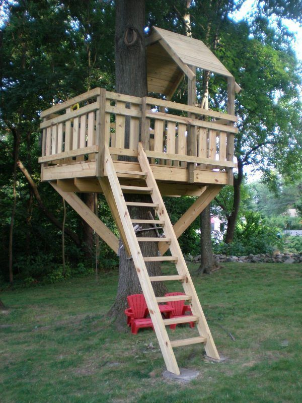 Diy Tree Houses 30 - 45+ DIY Tree House Ideas For Your Inspiration