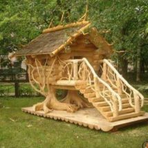 Diy Tree Houses 31 214x214 - 45+ DIY Tree House Ideas For Your Inspiration