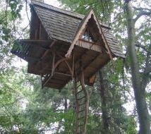 Diy Tree Houses 33 214x190 - 45+ DIY Tree House Ideas For Your Inspiration