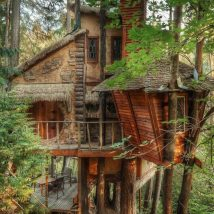 Diy Tree Houses 34 214x214 - 45+ DIY Tree House Ideas For Your Inspiration