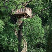 Diy Tree Houses 35 214x214 - 45+ DIY Tree House Ideas For Your Inspiration