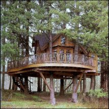 Diy Tree Houses 37 214x214 - 45+ DIY Tree House Ideas For Your Inspiration