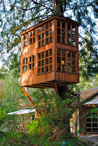 Diy Tree Houses 38 - 45+ DIY Tree House Ideas For Your Inspiration