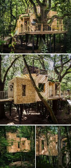 Diy Tree Houses 39 - 45+ DIY Tree House Ideas For Your Inspiration