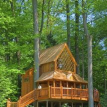 Diy Tree Houses 41 214x214 - 45+ DIY Tree House Ideas For Your Inspiration