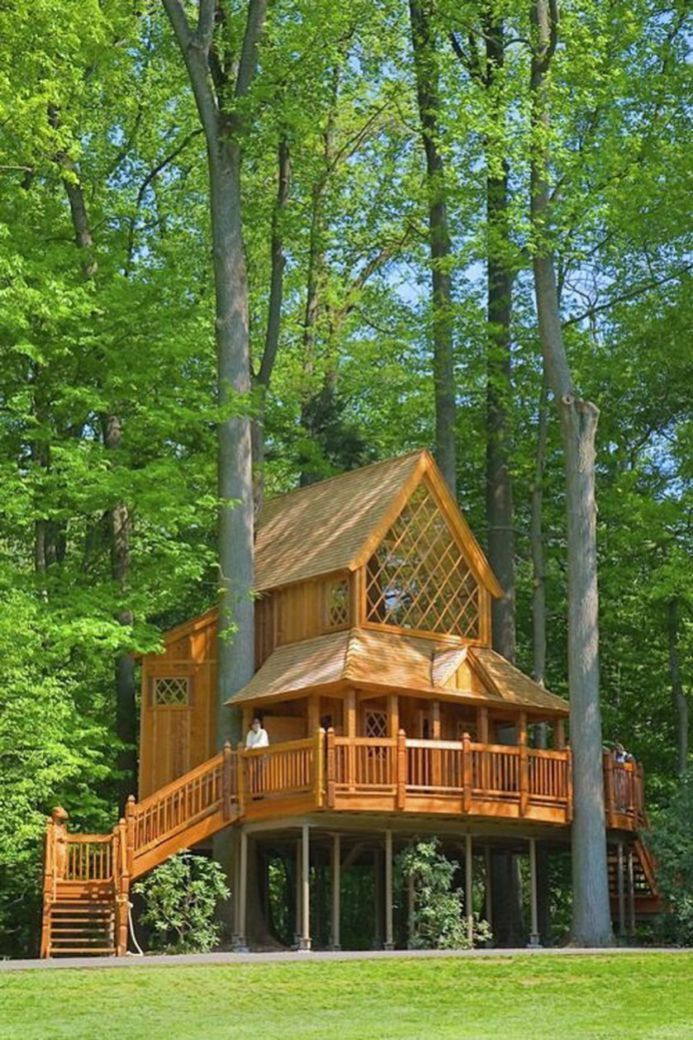 Diy Tree Houses 41 - 45+ DIY Tree House Ideas For Your Inspiration