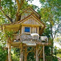 Diy Tree Houses 42 214x214 - 45+ DIY Tree House Ideas For Your Inspiration