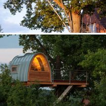 Diy Tree Houses 46 214x214 - 45+ DIY Tree House Ideas For Your Inspiration