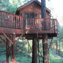 Diy Tree Houses 5 214x214 - 45+ DIY Tree House Ideas For Your Inspiration