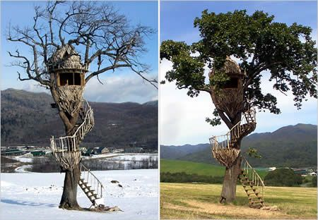 Diy Tree Houses 51 - 45+ DIY Tree House Ideas For Your Inspiration