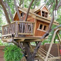 Diy Tree Houses 55 214x214 - 45+ DIY Tree House Ideas For Your Inspiration