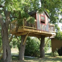 Diy Tree Houses 6 214x214 - 45+ DIY Tree House Ideas For Your Inspiration