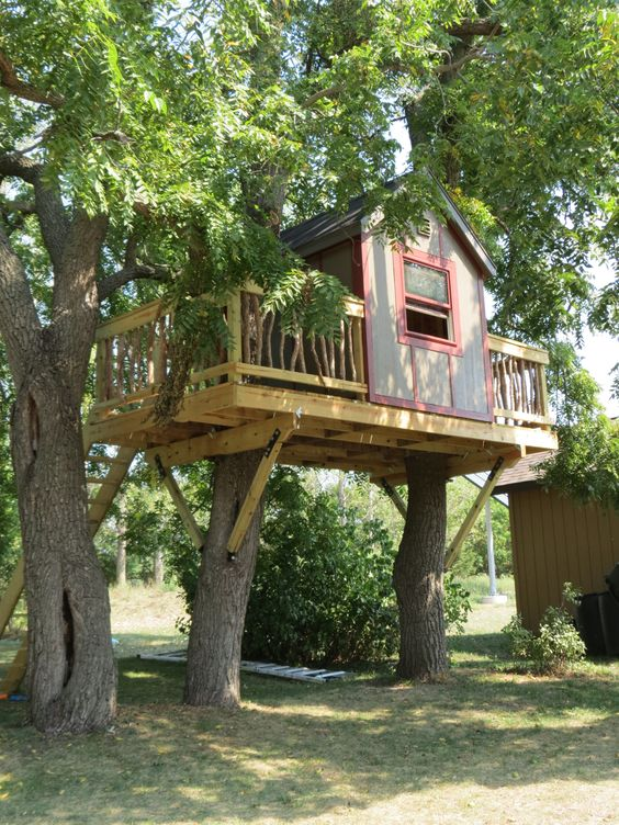Diy Tree Houses 6 - 45+ DIY Tree House Ideas For Your Inspiration