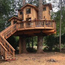 Diy Tree Houses 7 214x214 - 45+ DIY Tree House Ideas For Your Inspiration